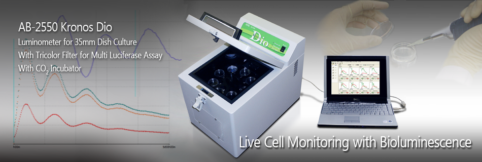 AB-2550 Kronos Dio - Luminmeter for Live Cell Monitoring with Bioluminescent Markers